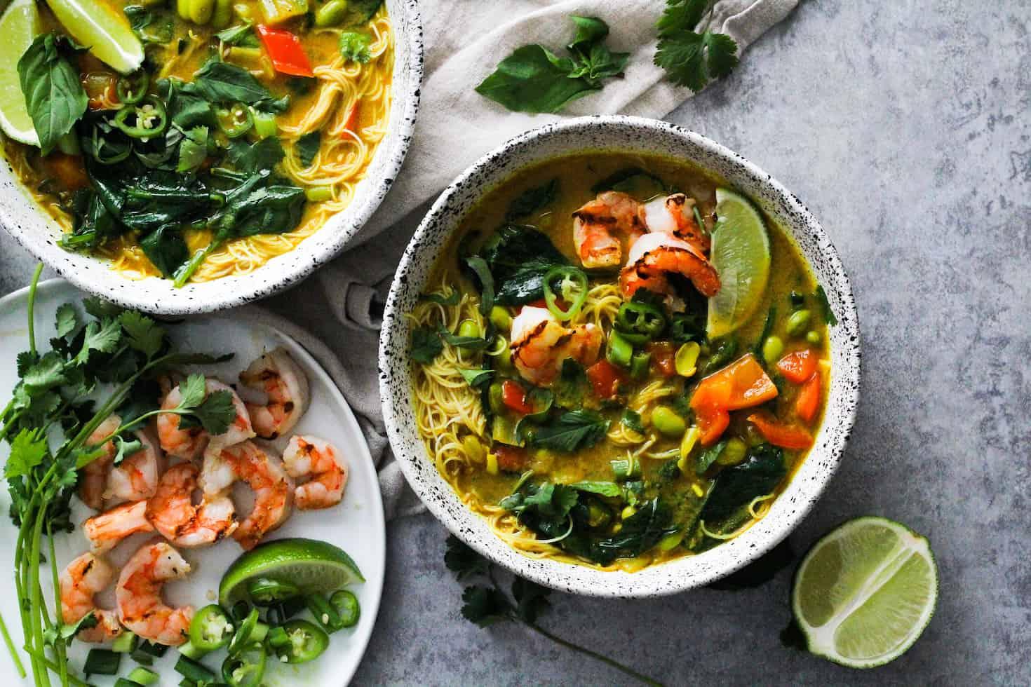 Coconut Noodle Soup